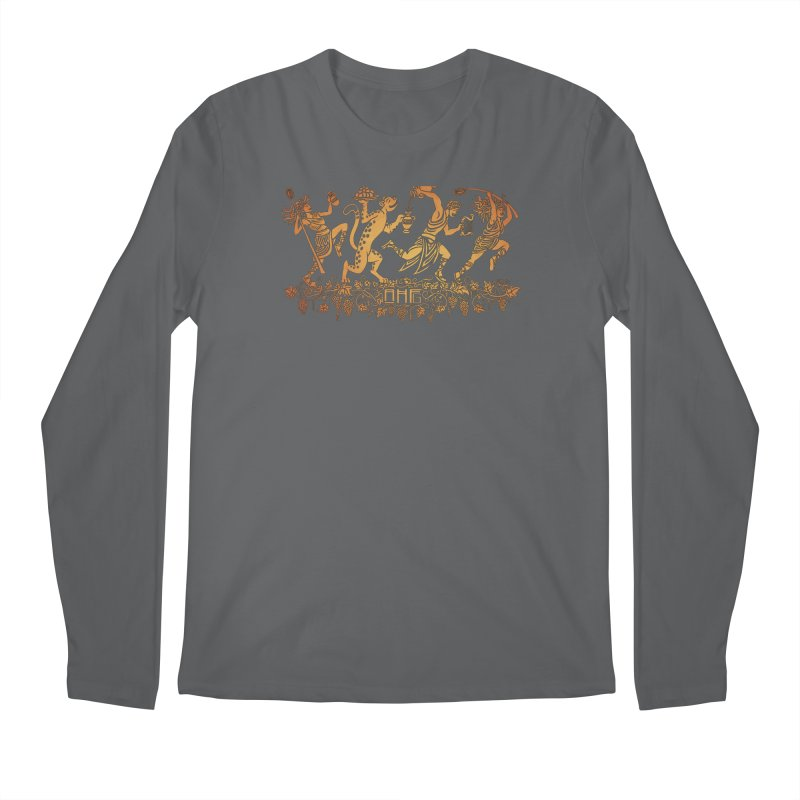 Dionysus and the Dancing Maenads Men's Longsleeve T-Shirt by ancienthistoryfangirl's Artist Shop