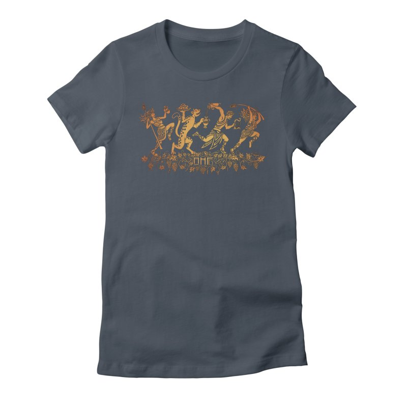 Dionysus and the Dancing Maenads Women's T-Shirt by ancienthistoryfangirl's Artist Shop