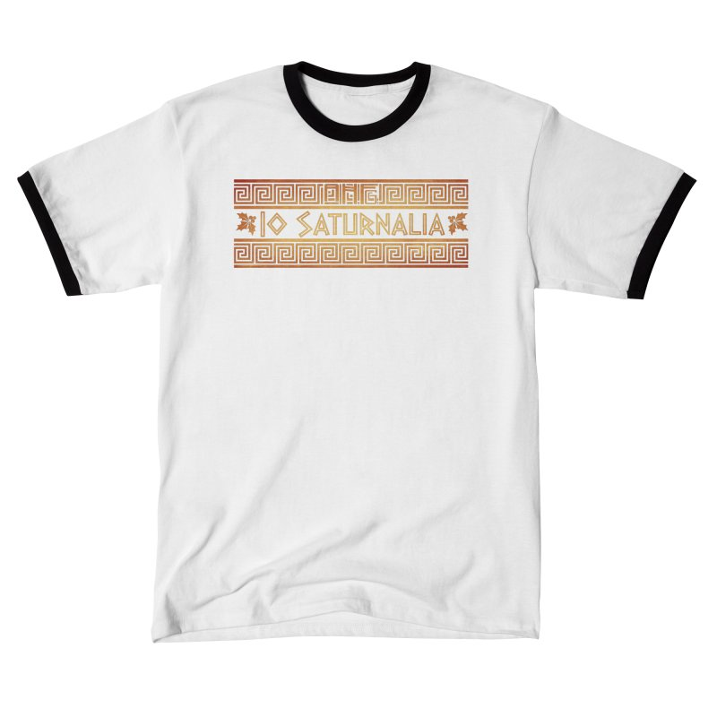 Io Saturnalia! Men's T-Shirt by ancienthistoryfangirl's Artist Shop