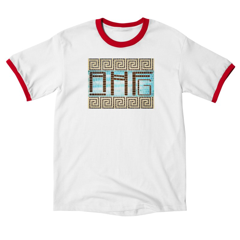 Fangirl Mosaic Men's T-Shirt by ancienthistoryfangirl's Artist Shop