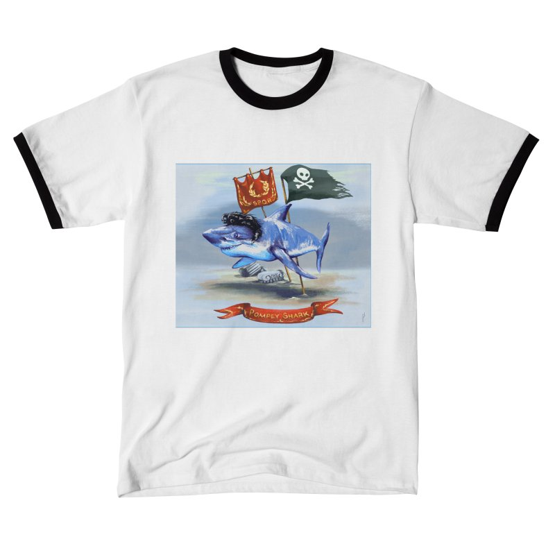 Pompey Shark (the Great) Men's T-Shirt by ancienthistoryfangirl's Artist Shop