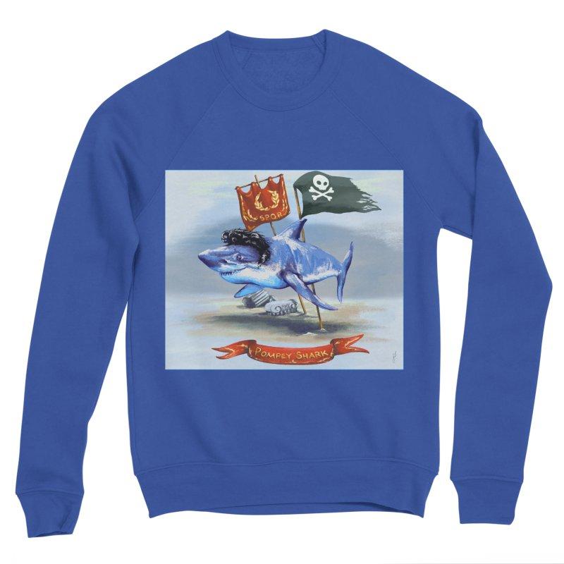 Pompey Shark (the Great) Women's Sweatshirt by ancienthistoryfangirl's Artist Shop