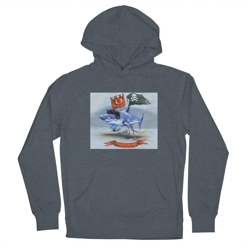 Pompey Shark (the Great) Men's Pullover Hoody by ancienthistoryfangirl's Artist Shop