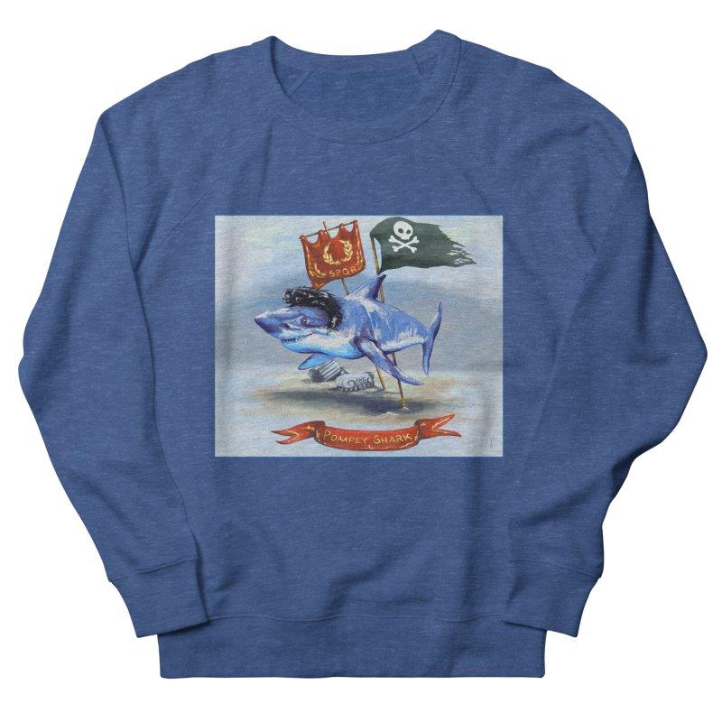 Pompey Shark (the Great) Men's Sweatshirt by ancienthistoryfangirl's Artist Shop