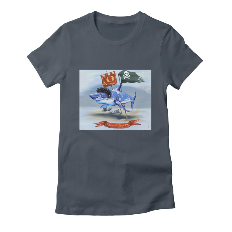 Pompey Shark (the Great) Women's T-Shirt by ancienthistoryfangirl's Artist Shop
