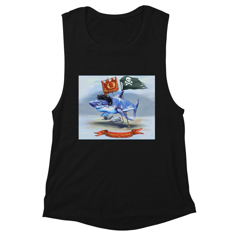 Pompey Shark (the Great) Women's Tank by ancienthistoryfangirl's Artist Shop