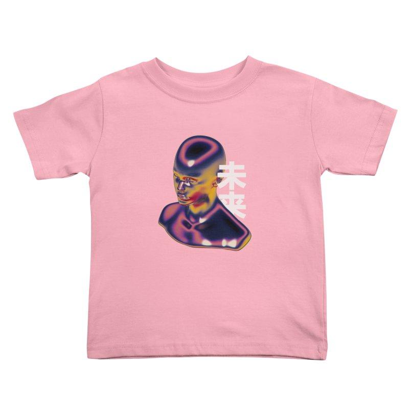 Weird Future Kids Toddler T-Shirt by Sebastian Andaur