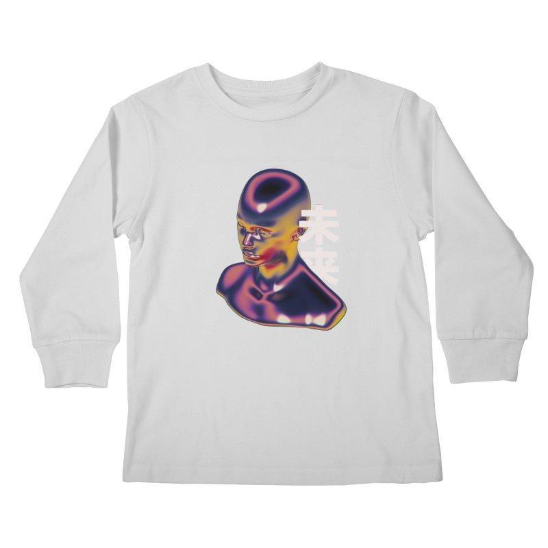 Weird Future Kids Longsleeve T-Shirt by Sebastian Andaur