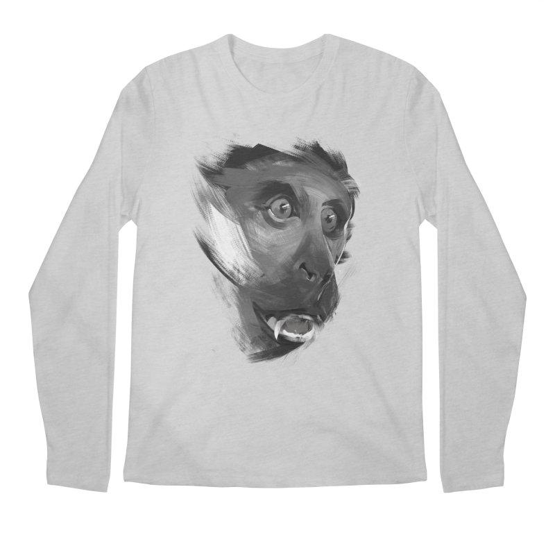 Monkey Men's Longsleeve T-Shirt by andias's Artist Shop