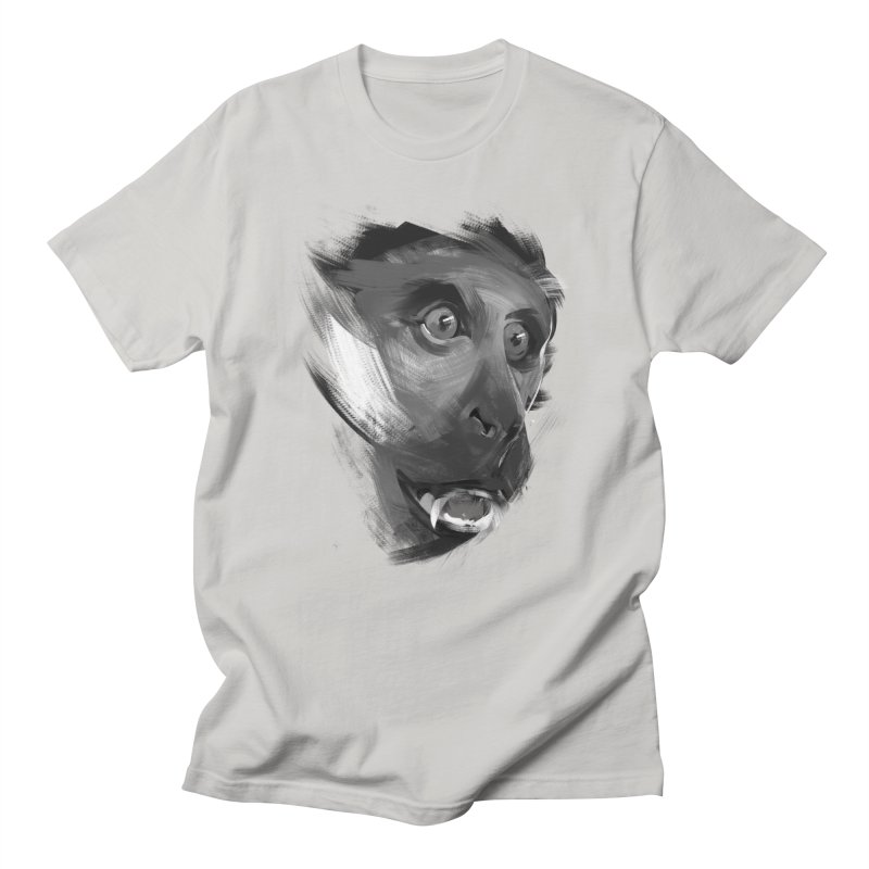 Monkey Men's T-shirt by andias's Artist Shop