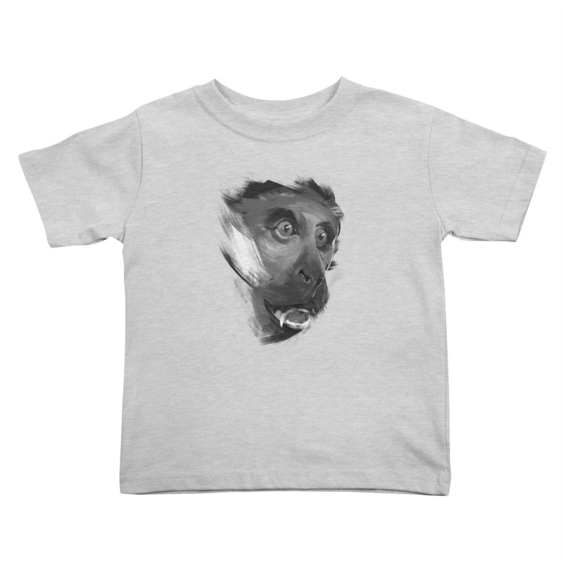 Monkey Kids Toddler T-Shirt by andias's Artist Shop