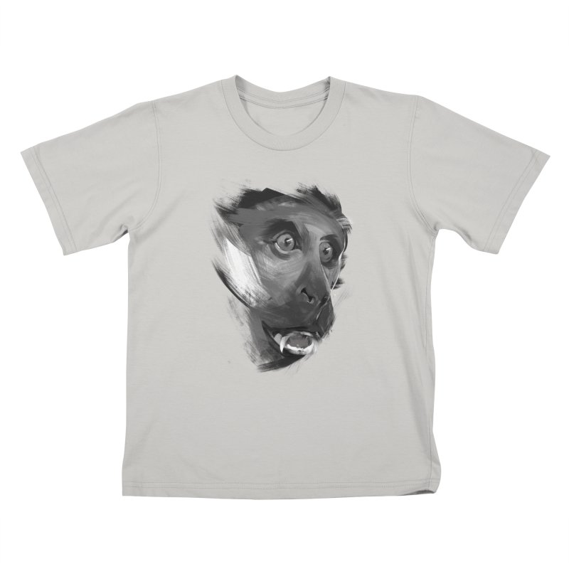 Monkey Kids T-shirt by andias's Artist Shop