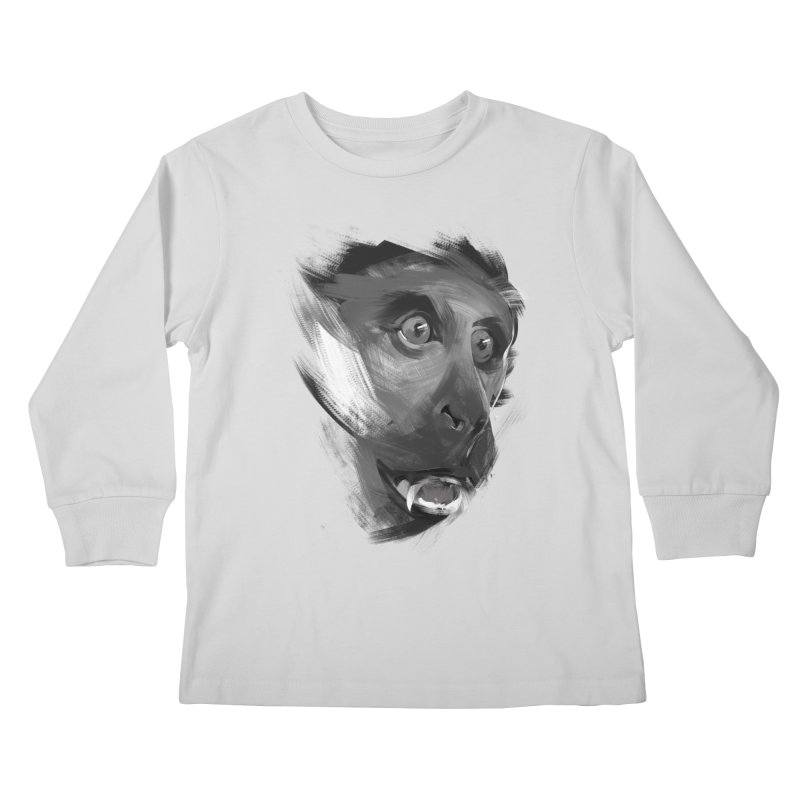 Monkey Kids Longsleeve T-Shirt by andias's Artist Shop