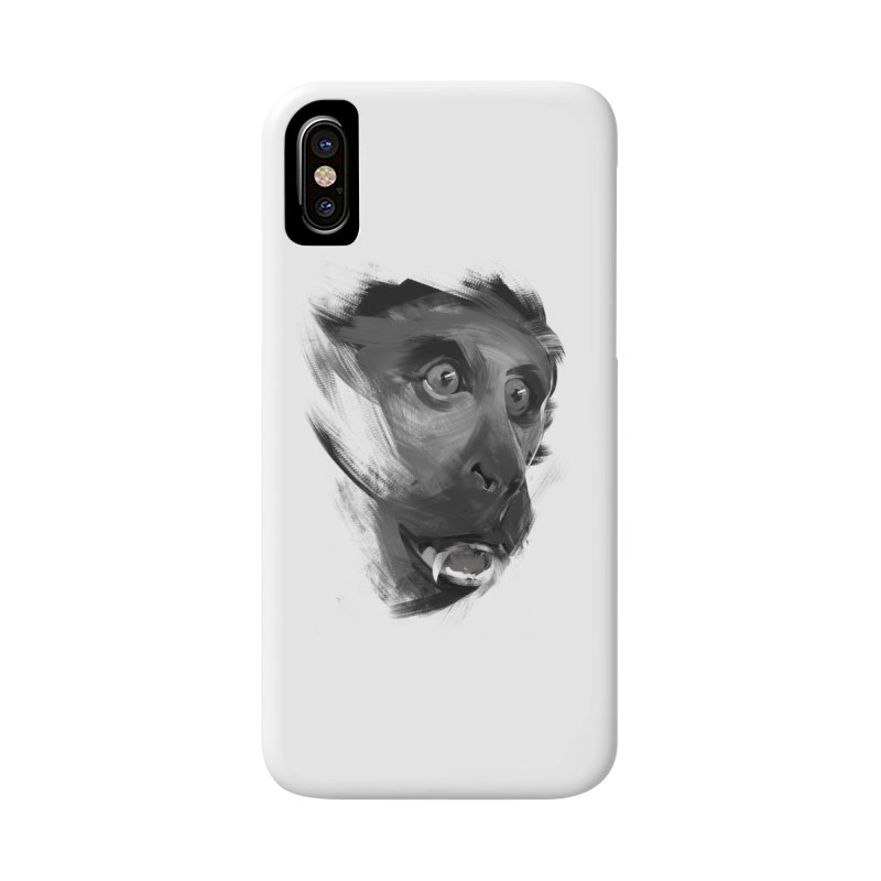 Monkey Accessories Phone Case by andias's Artist Shop