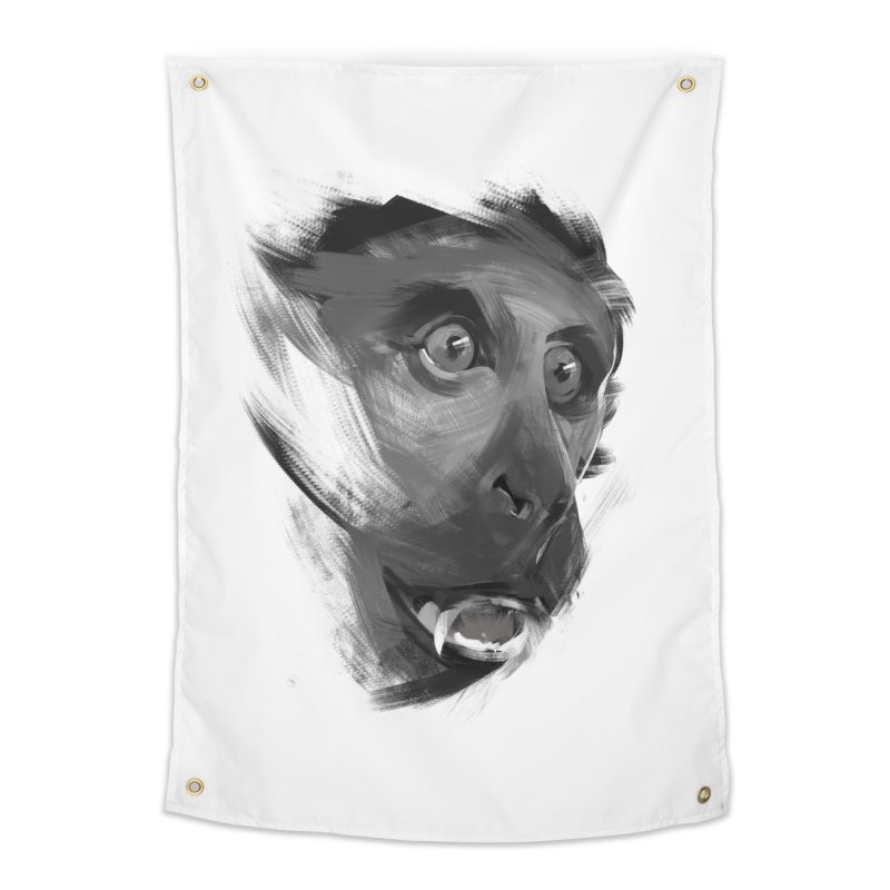 Monkey Home Tapestry by andias's Artist Shop
