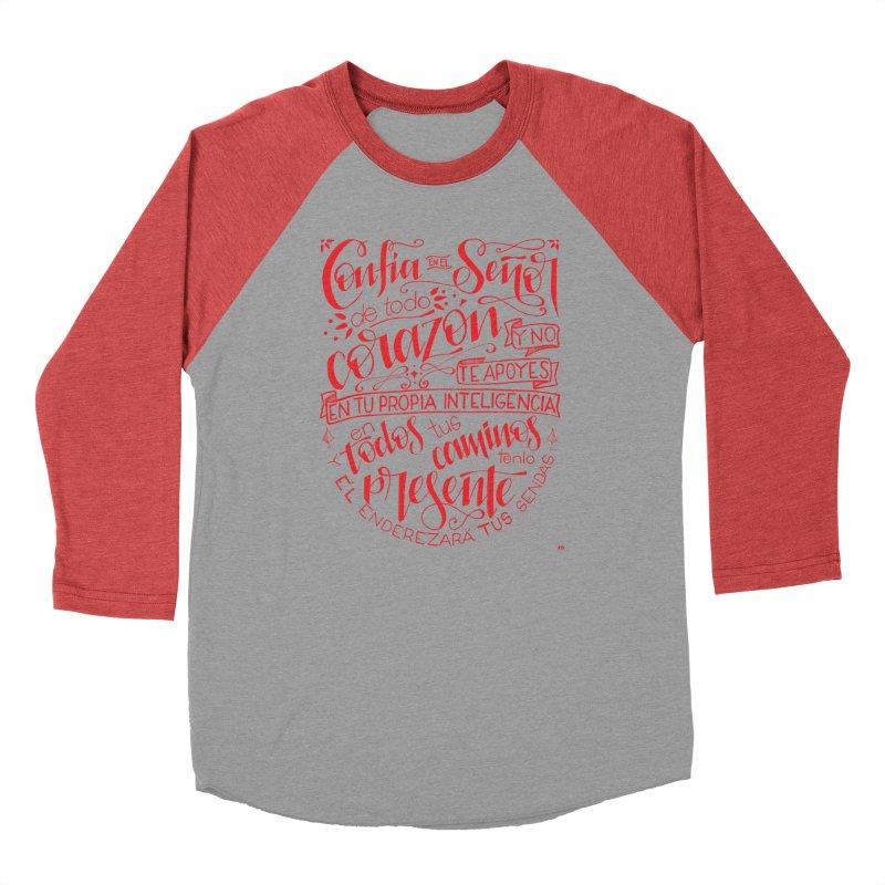 Confía en el Señor de todo corazón Men's Longsleeve T-Shirt by Andrea Garrido V - Shop