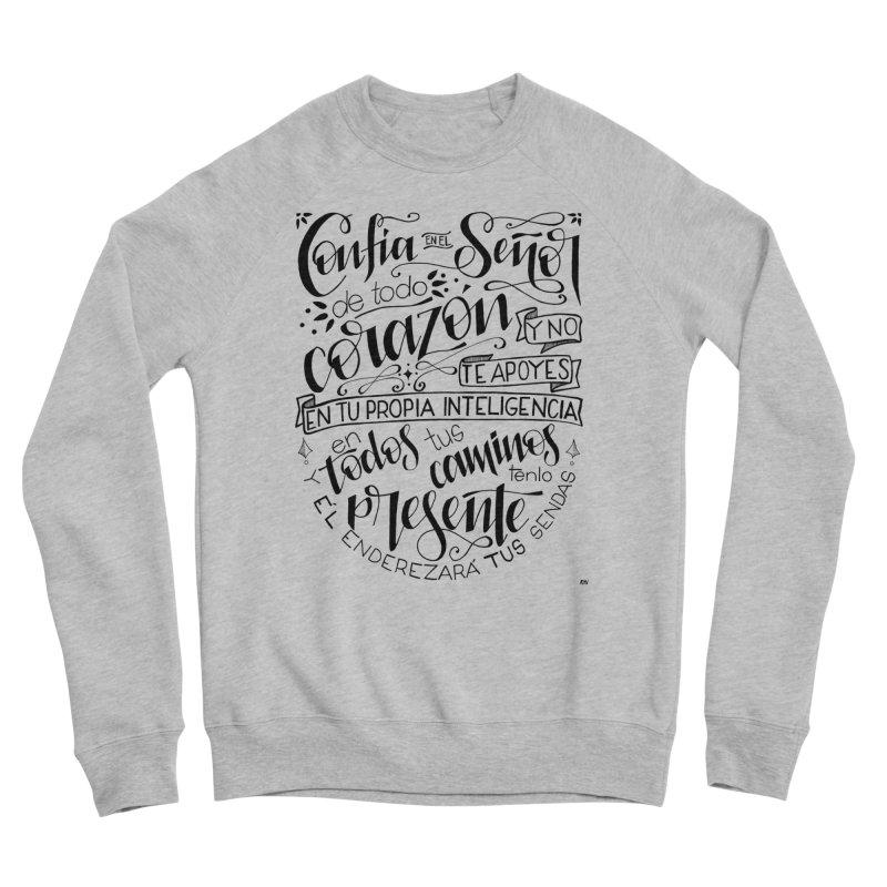 Confía en el Señor - negro Men's Sweatshirt by Andrea Garrido V - Shop