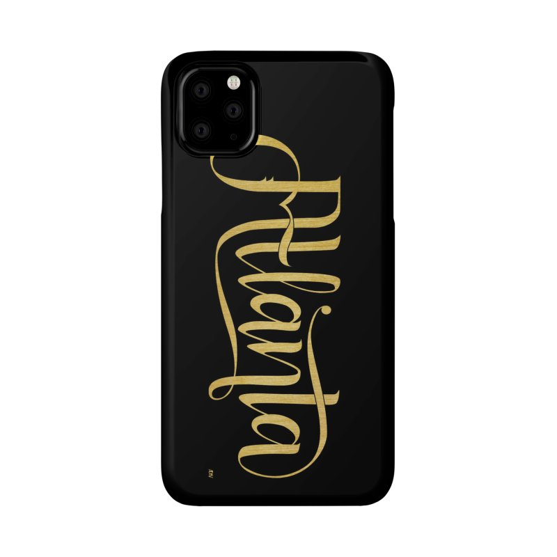 Golden Atlanta Accessories Phone Case by Andrea Garrido V - Shop