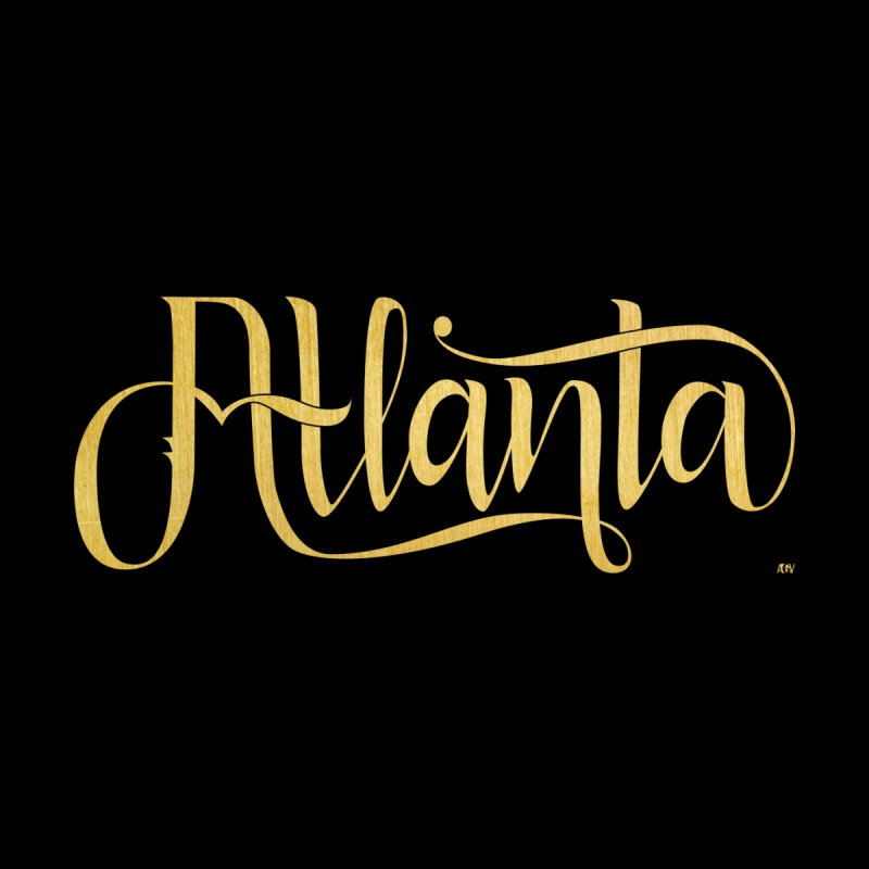 Golden Atlanta Accessories Skateboard by Andrea Garrido V - Shop
