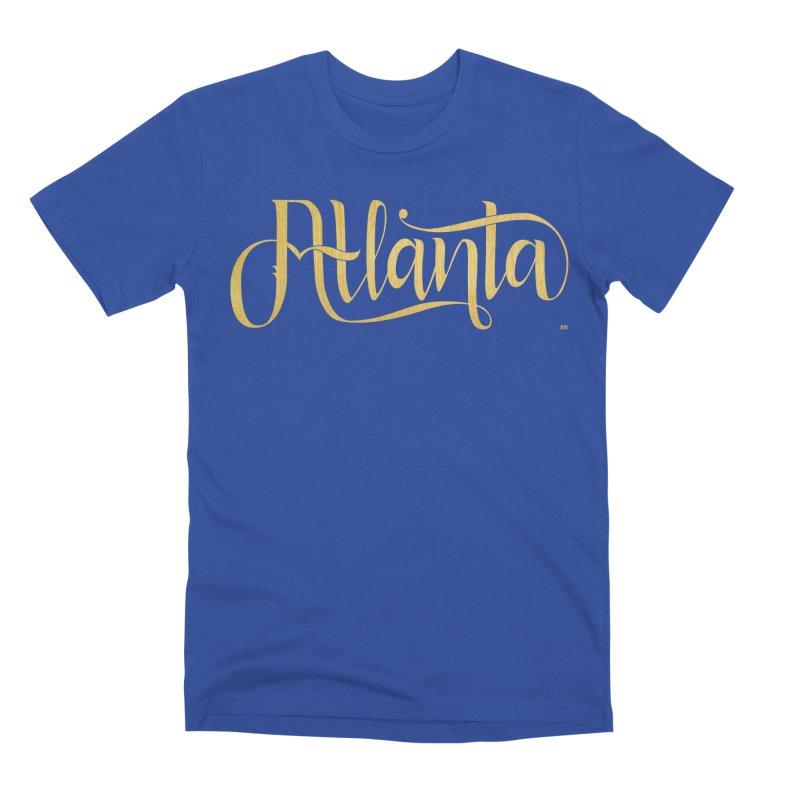 Golden Atlanta Men's T-Shirt by Andrea Garrido V - Shop