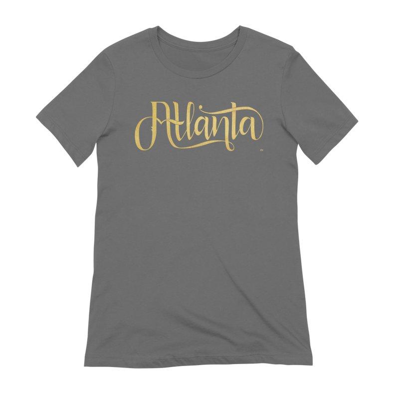Golden Atlanta Women's T-Shirt by Andrea Garrido V - Shop