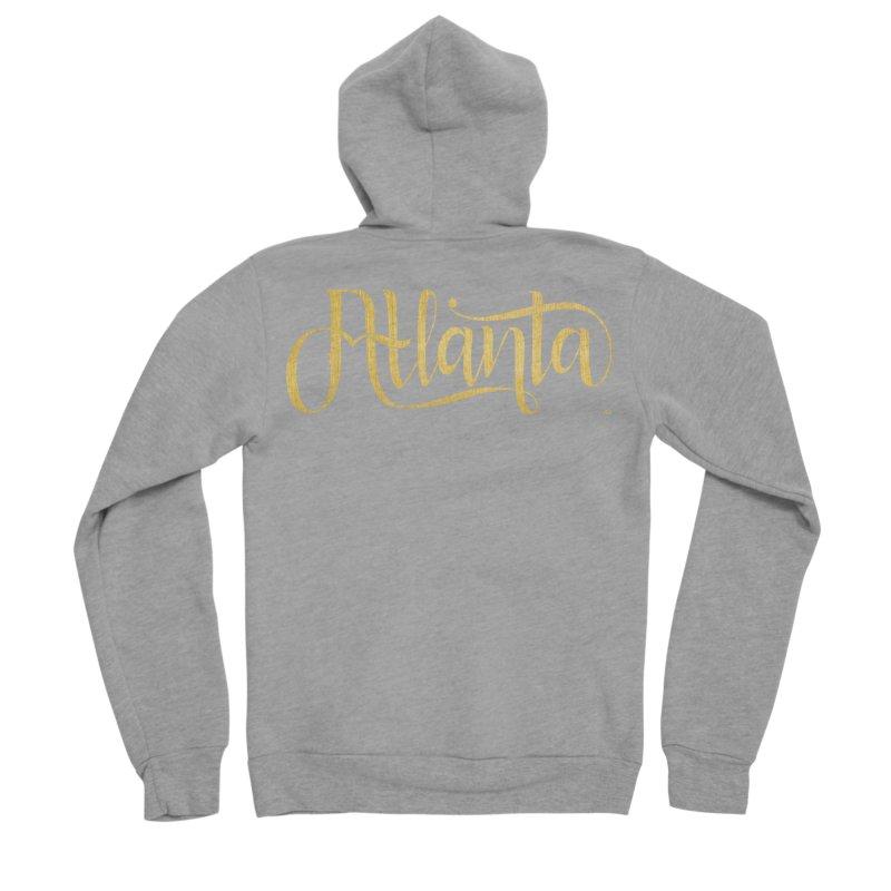 Golden Atlanta Women's Sponge Fleece Zip-Up Hoody by Andrea Garrido V - Shop