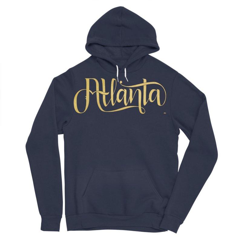 Golden Atlanta Men's Sponge Fleece Pullover Hoody by Andrea Garrido V - Shop