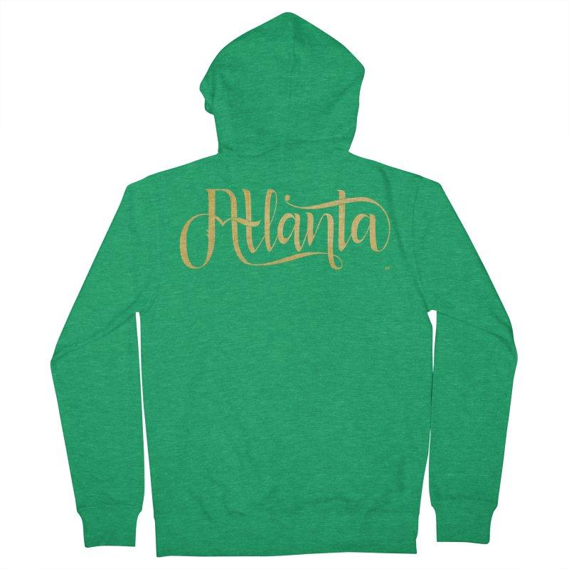 Golden Atlanta Women's Zip-Up Hoody by Andrea Garrido V - Shop