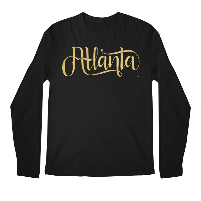 Golden Atlanta Men's Regular Longsleeve T-Shirt by Andrea Garrido V - Shop