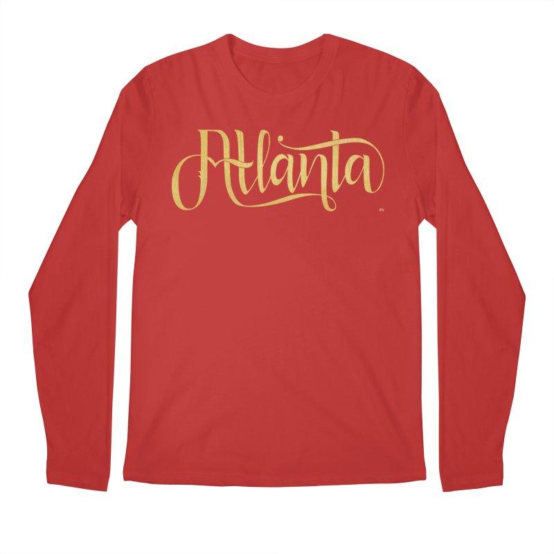 Golden Atlanta Men's Regular Longsleeve T-Shirt by Andrea Garrido V - Shop