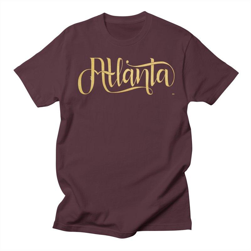 Golden Atlanta Men's Regular T-Shirt by Andrea Garrido V - Shop