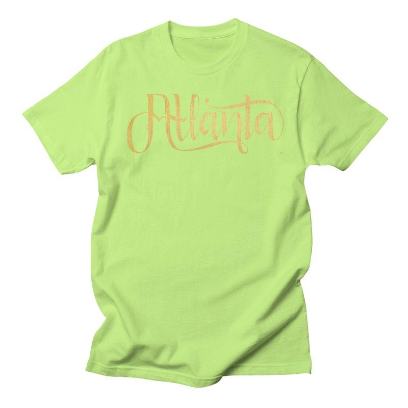 Golden Atlanta Women's Regular Unisex T-Shirt by Andrea Garrido V - Shop