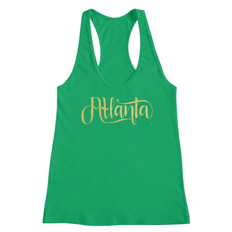 Golden Atlanta Women's Tank by Andrea Garrido V - Shop