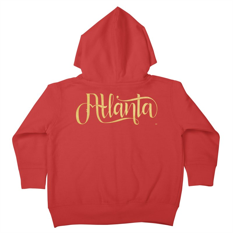 Golden Atlanta Kids Toddler Zip-Up Hoody by Andrea Garrido V - Shop