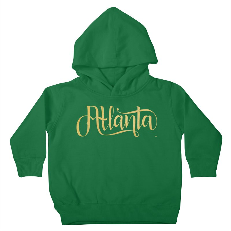 Golden Atlanta Kids Toddler Pullover Hoody by Andrea Garrido V - Shop
