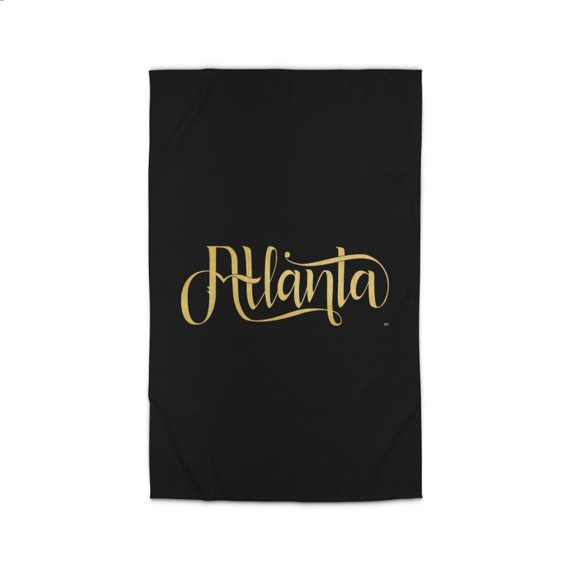 Golden Atlanta Home Rug by Andrea Garrido V - Shop
