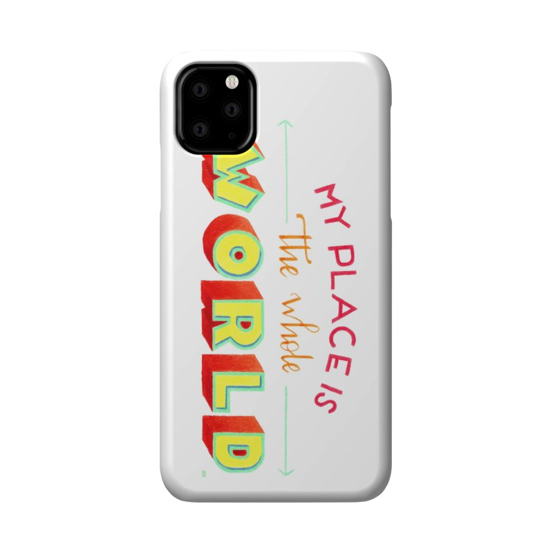 The whole world Accessories Phone Case by Andrea Garrido V - Shop