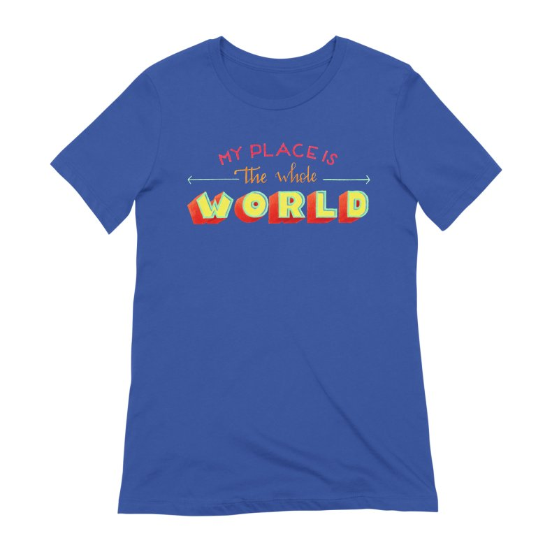 The whole world Women's Extra Soft T-Shirt by Andrea Garrido V - Shop