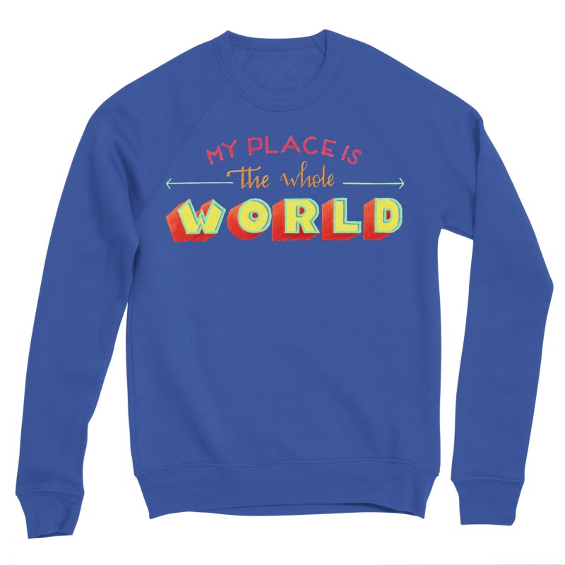 The whole world Women's Sweatshirt by Andrea Garrido V - Shop