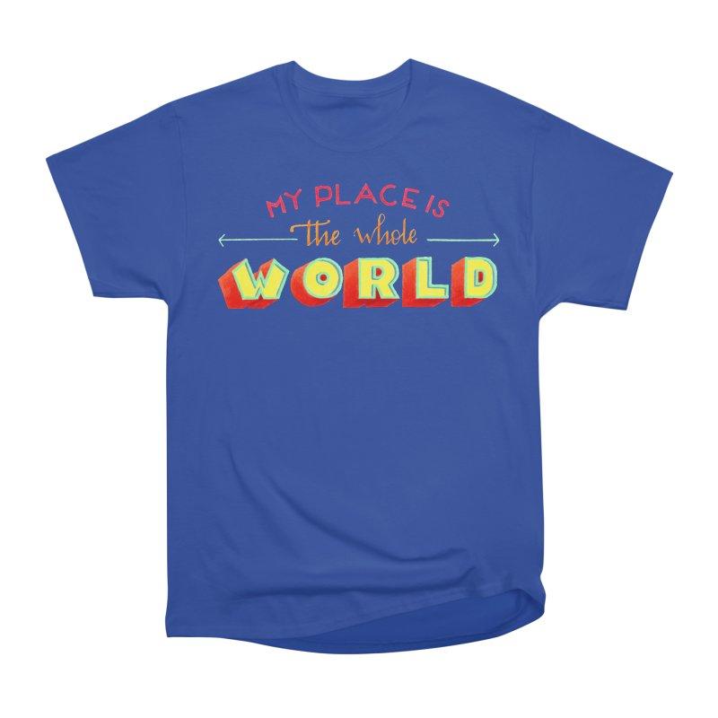 The whole world Men's T-Shirt by Andrea Garrido V - Shop