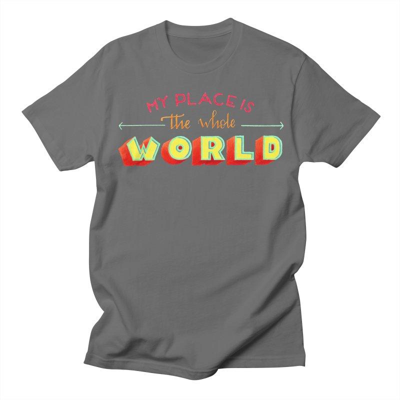 The whole world Men's Regular T-Shirt by Andrea Garrido V - Shop