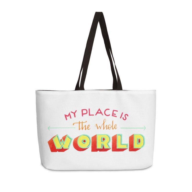 The whole world Accessories Weekender Bag Bag by Andrea Garrido V - Shop