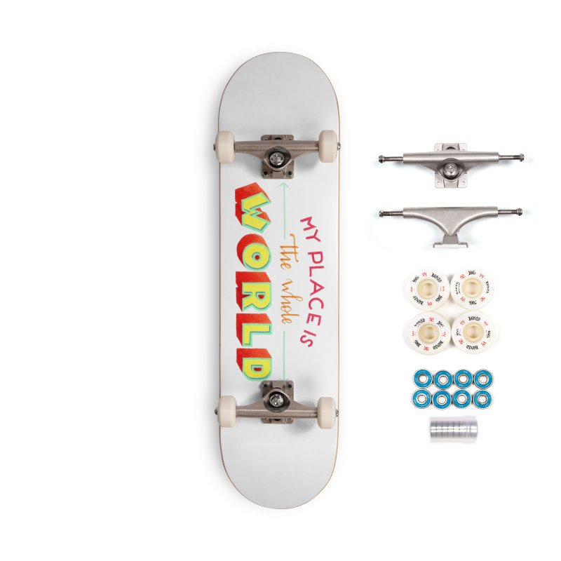 The whole world Accessories Complete - Premium Skateboard by Andrea Garrido V - Shop