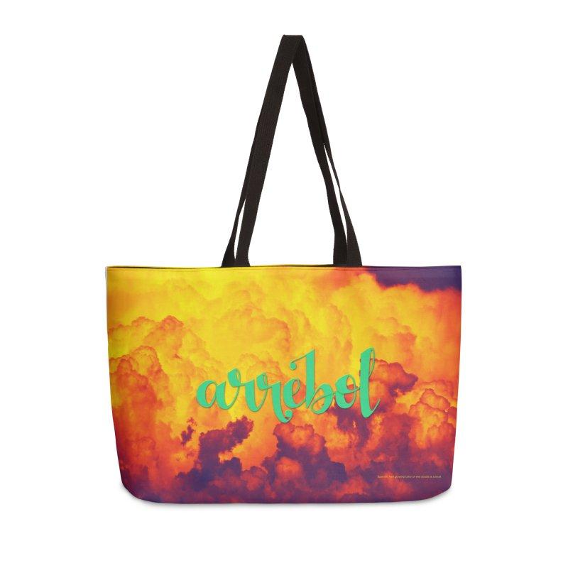 Arrebol Accessories Weekender Bag Bag by Andrea Garrido V - Shop