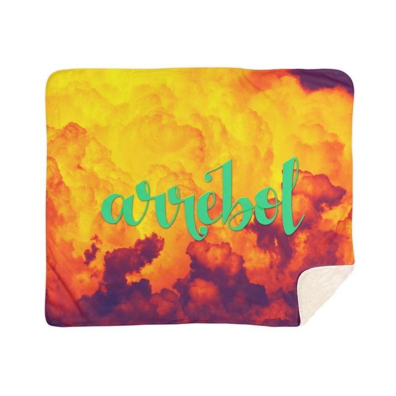 Arrebol Home Sherpa Blanket Blanket by Andrea Garrido V - Shop