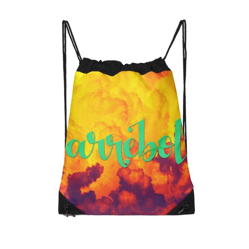 Arrebol Accessories Drawstring Bag Bag by Andrea Garrido V - Shop
