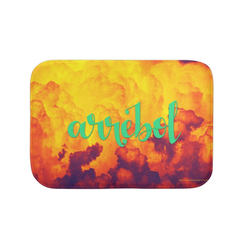Arrebol Home Bath Mat by Andrea Garrido V - Shop
