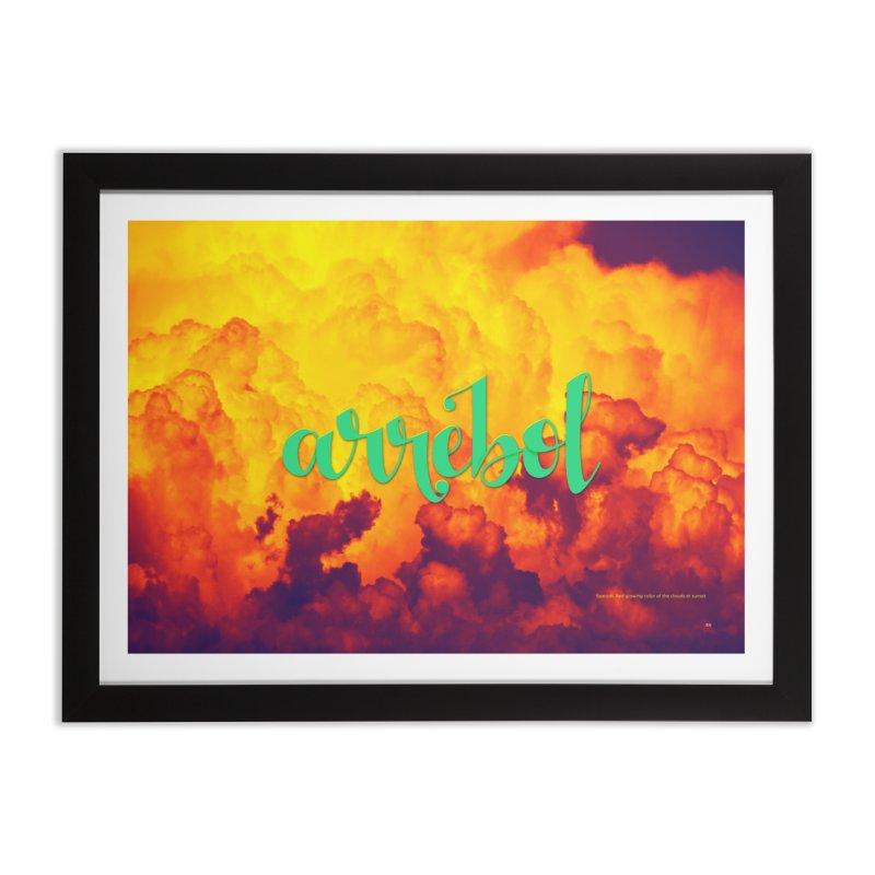 Arrebol Home Framed Fine Art Print by Andrea Garrido V - Shop