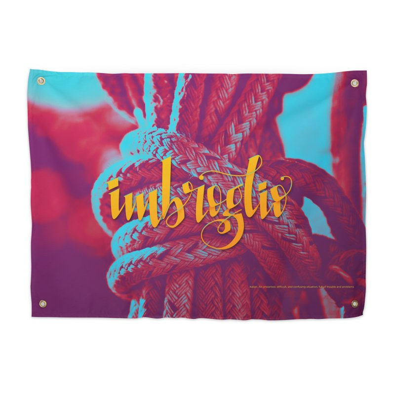 Imbroglio - beautiful words Home Tapestry by Andrea Garrido V - Shop
