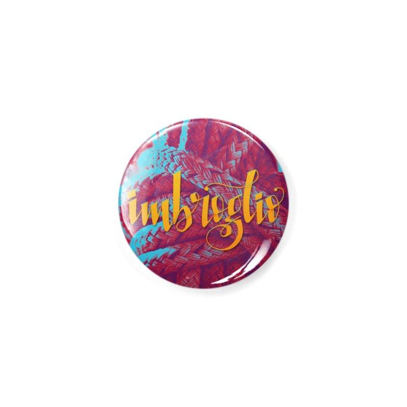 Imbroglio - beautiful words Accessories Button by Andrea Garrido V - Shop